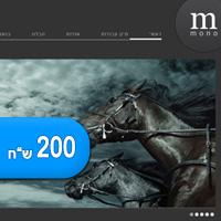 תבנית חדשה להורדה בתשלום – Mono