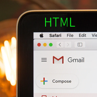 כיצד ליצור אימייל HTML בGMAIL